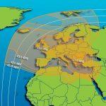 Сателита Azerspace-2 / Intelsat 38 от февруари на 45E