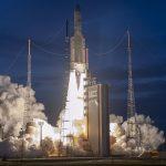 Ariane 5 на Arianespace изведе T-16 и EUTELSAT 7C на геостационарна трансферна орбита
