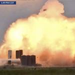 Прототипът на SpaceX Starship SN4 експлодира след тест на ракетни двигатели